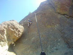 Rock Climbing Photo: The Route (second bolt and up)