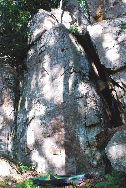 Rock Climbing Photo: Stewball Boulder & problem