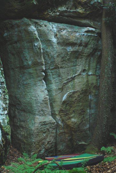 Left side of Vanilla Boulder (with Vaniller Piller and Vanilla Extract shown).