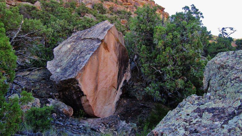 Rock Climbing Photo: Pebbleton's west face.