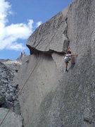 Rock Climbing Photo: Six year old Ben