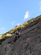 Sebastapol Bluffs, Red Arete