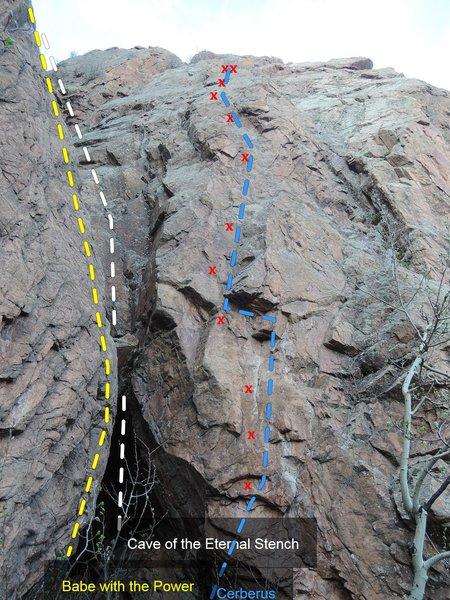 Rock Climbing Photo: Cerberus.