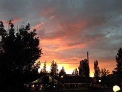 Rock Climbing Photo: Sunset from Big Bear Lake Village, Big Bear Lake