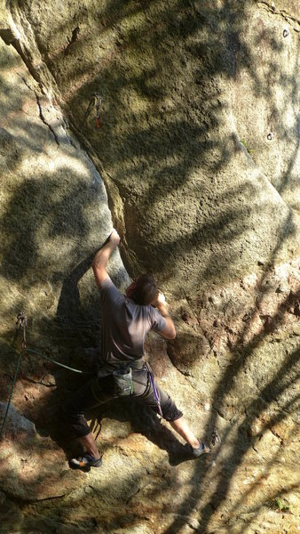 Rock Climbing Photo: Colin Rickert on Anti-Gravity.