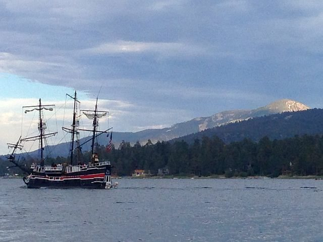 Rock Climbing Photo: Ahoy! the Pirate Ship, Big Bear Lake