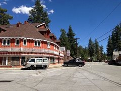 Rock Climbing Photo: The town of Fawnskin, Big Bear Lake Area