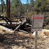 Remnants of an old mine, Holcomb Valley Pinnacles