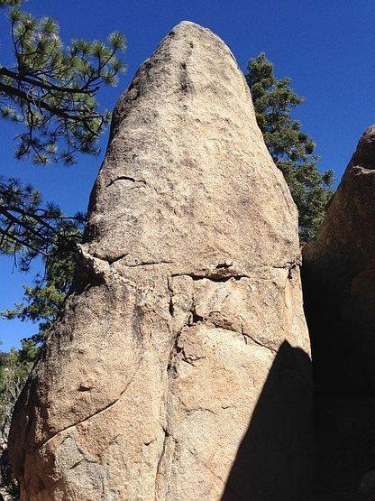 Rock Climbing Photo: The Ingot, Holcomb Valley Pinnacles