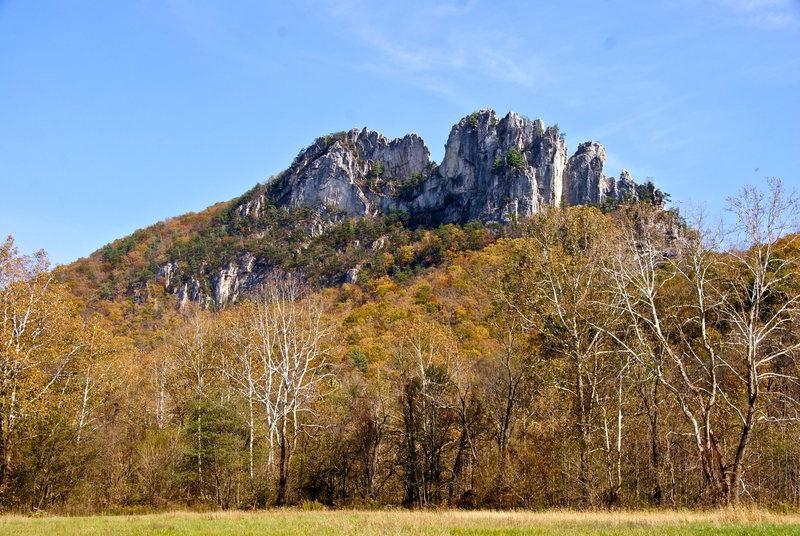Rock Climbing Photo: Senca Rocks, WV