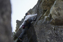 Rock Climbing Photo: Sergey on the Owl