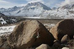 Rock Climbing Photo: buttermilk country