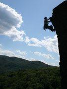 Rock Climbing Photo: Triple Corners area of Rumney