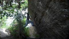 Rock Climbing Photo: Me on Broken Feet