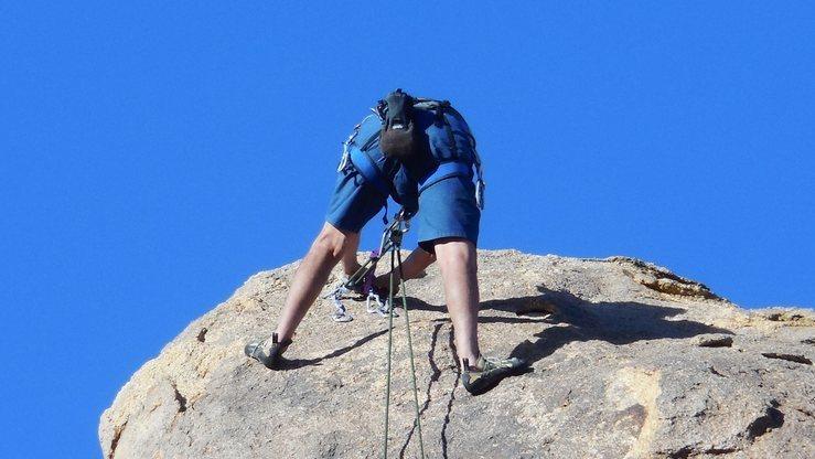 Rock Climbing Photo: Eat My Shorts