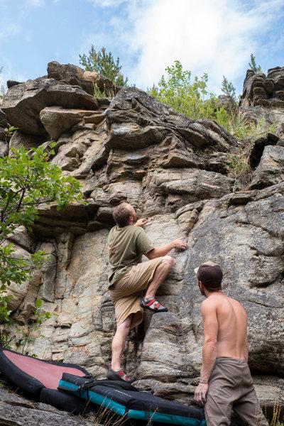 Rock Climbing Photo: Easy as an Elevator