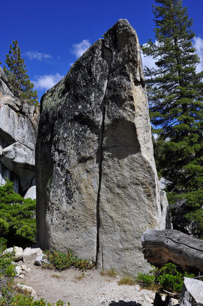 Rock Climbing Photo: Close up of the Olmstead Crack (V1)