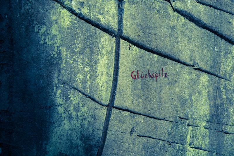 Rock Climbing Photo: Glückspilz start
