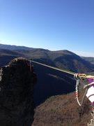 Rock Climbing Photo: The Camel Highline