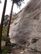 Lumbering Levitation, Shooting Gallery Boulders, Co. 7 Allenspark