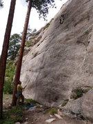Rock Climbing Photo: Lumbering Levitation, Shooting Gallery Boulders, C...