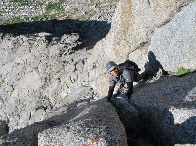 Gokul, top of pitch 2