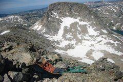 Rock Climbing Photo: Alpine Hammock