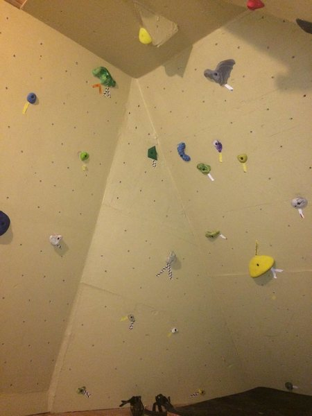 Rock Climbing Photo: Left corner