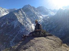 Rock Climbing Photo: Summit shot with Will