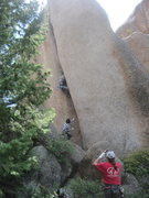 Rock Climbing Photo: bloodletting opportunities