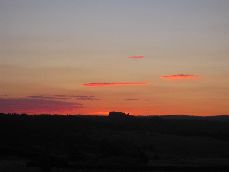 Rock Climbing Photo: vedauwoo sunset....