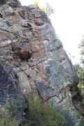 Rock Climbing Photo: Abraxas topo