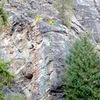 Little Pine Rock - left side topo