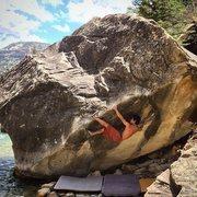 Rock Climbing Photo: Lowtide