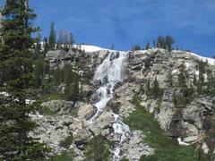 Rock Climbing Photo: Shoshoko Falls on the way to Lake Taminah in Avala...