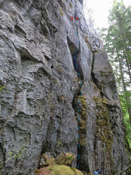 Rock Climbing Photo: Tipsy McStagger