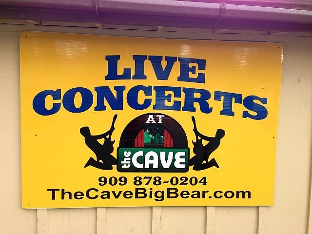 Rock Climbing Photo: See live music at The Cave, Big Bear Lake