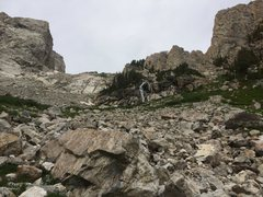 Rock Climbing Photo: spaulding falls on the way to upper saddle.