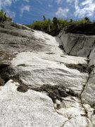Rock Climbing Photo: Soloing the Upper Dihehral. Photo by Richard D. Mc...