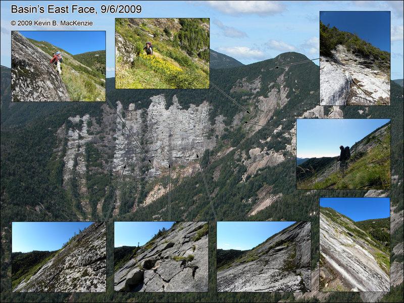 Basin East Face