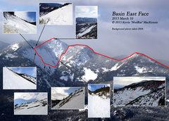 Rock Climbing Photo: Basin East Face