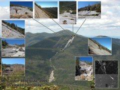 Rock Climbing Photo: Mt. Colden 1990 Slide
