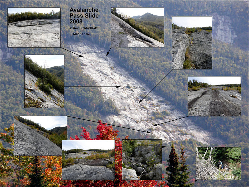 Mt. Colden Avalanche Pass (Harp) Slide