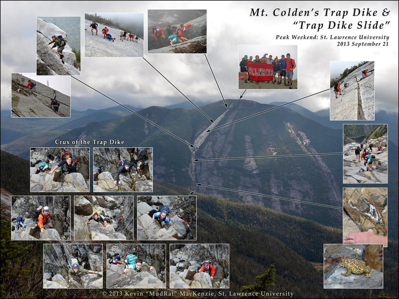 Mt. Colden Trap Dike
