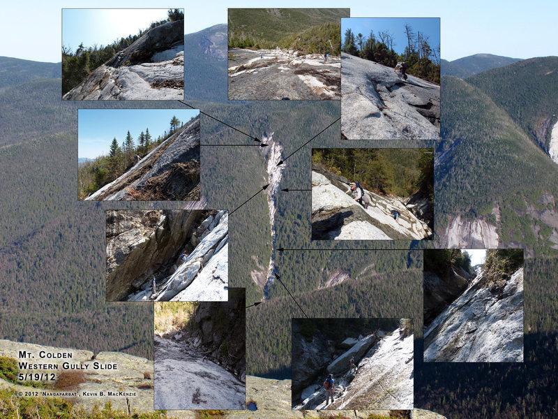 Mt. Colden Cruciflyer (West Gully) Slide