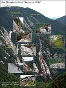 Rock Climbing Photo: Dix Buttress Slide (2013)