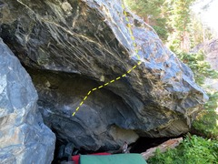 Rock Climbing Photo: Wasp Roof.