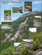 Rock Climbing Photo: Giant Mtn. Diagonal Slide