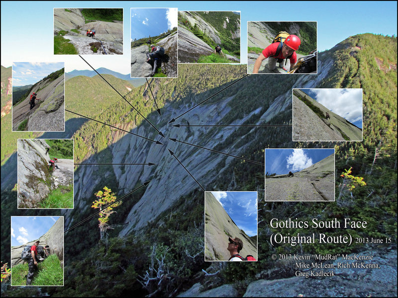 Gothics South Face Summer