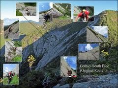 Rock Climbing Photo: Gothics South Face Summer